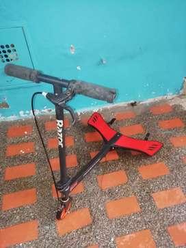 Scooter razor powerwing