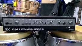 Amplificador Cabezote de Bajo Gallien Krueger 400rb usado