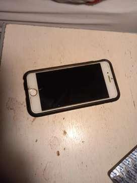 Iphone 6s 64gb con cargador no anda boton home. Precio NEGOCIABLE
