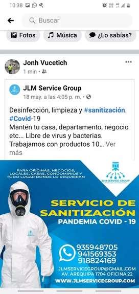 Servicio de sanitizacion