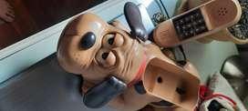 Telefono con sonido ladrido  de perro
