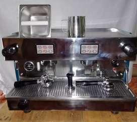 Equipo de cafetería pequeña