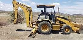 Vendo o Cambio   Gallineta Caterpillar 420 D con Camión
