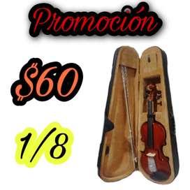 Violin nuevo de 1/8