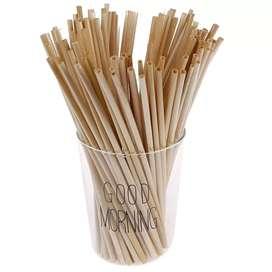 Pitillos bambu