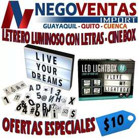 LETRO LED CINE BOX