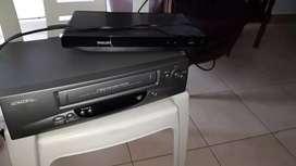 Dvd y videocasetera