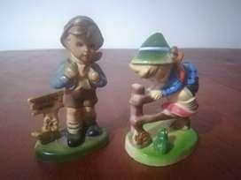 Muñecos años 70s made in hong kong