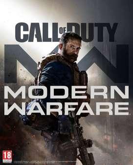 Call of Duty modern Warfare & Overwatch para PC BLIZZARD