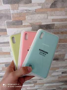 Forros silicone para Samsung