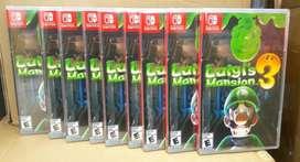 Luigis Mansion 3 Nintendo Switch Stock
