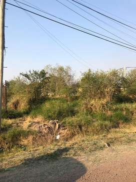 Terreno 10 por 22,50 , calle guacuru 2000