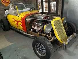 Hot Rot Dodge 1930 Motor Dodge GTX V8 OKM