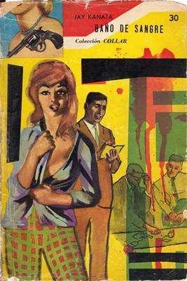 Libro: Baño de sangre, de Jay Kanata [novela de suspenso]