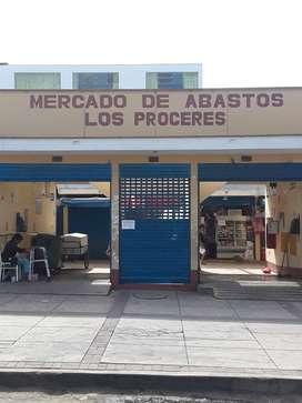 VENTA DE LOCAL COMERCIAL MERCADO LOS PROCERES-SANTIAGO DE SURCO