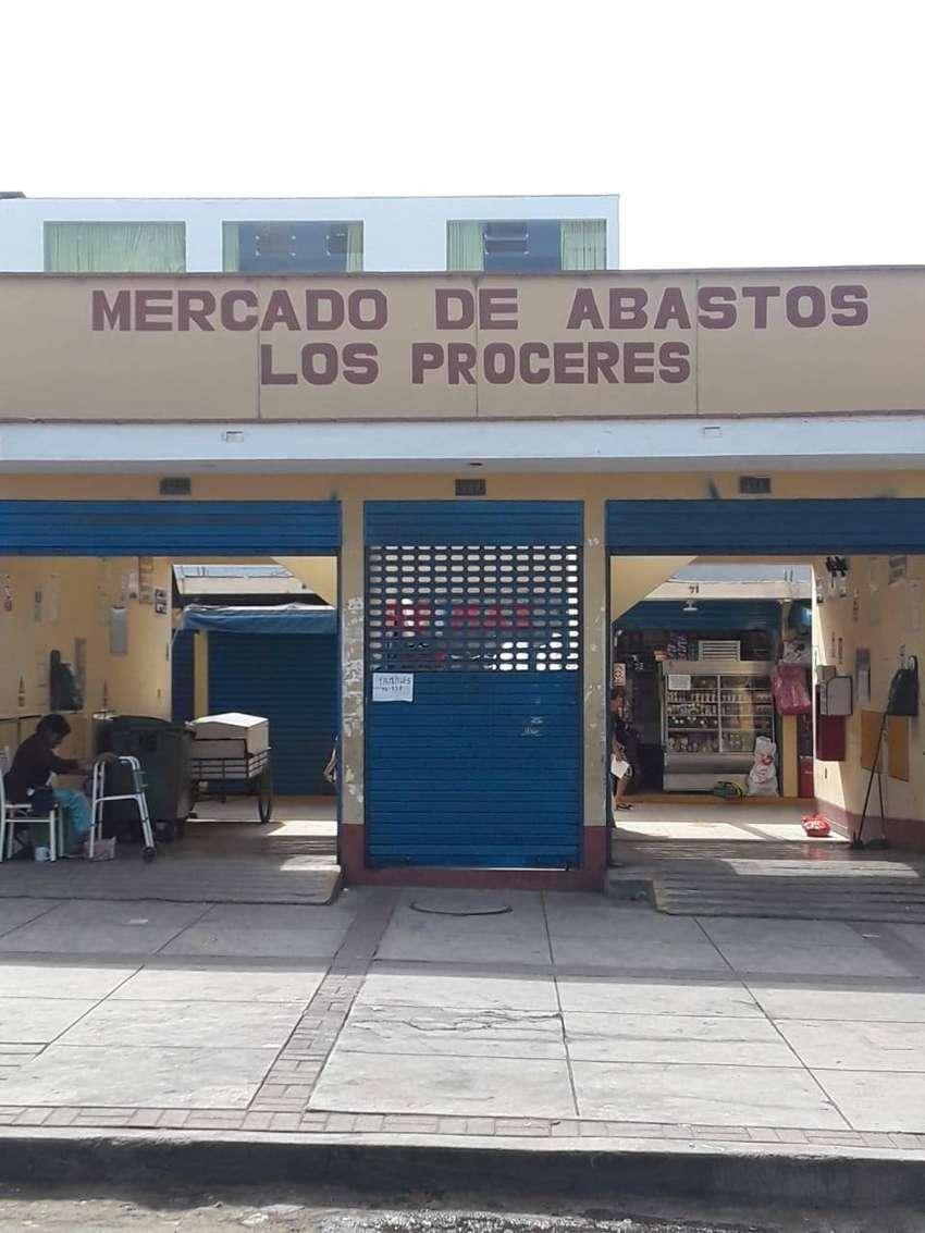 VENTA DE LOCAL COMERCIAL MERCADO LOS PROCERES-SANTIAGO DE SURCO 0