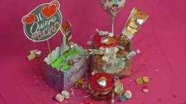 Cajas de regalo dulces