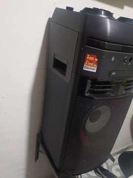 LG X BOOM súper sonido de alta calidad, palanca para fiestas