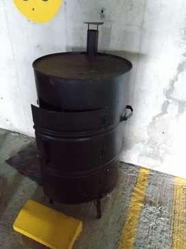 Ahumador asador a gas