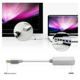 Cable DP Apple Macbook Air USB Display Port Thunderbolt DP To HDMI
