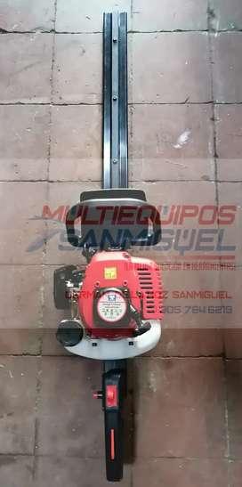 Cortasetos motor a gasolina