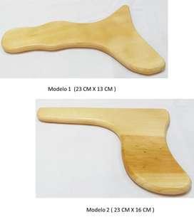 Carro Masajes Maderoterapia Columna Musculos Cuello Madera