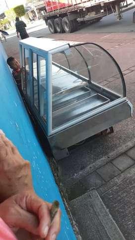 Congelador panoramico ahorrador de energia
