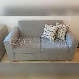 Sofa 2 cuerpos Juana