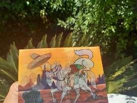 Antigua Postal Infantil Lenticular