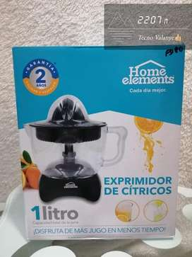 Exprimidor de jugos citricos electrico home elements