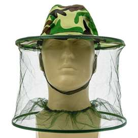 Sombrero Anti Mosquitos Zancudos Abejas Avispas