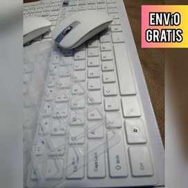 Combo inalámbrico tipo Apple Teclado y mouse