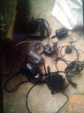 Cables de audio y de corriente