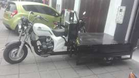 Alquiler de moto carga