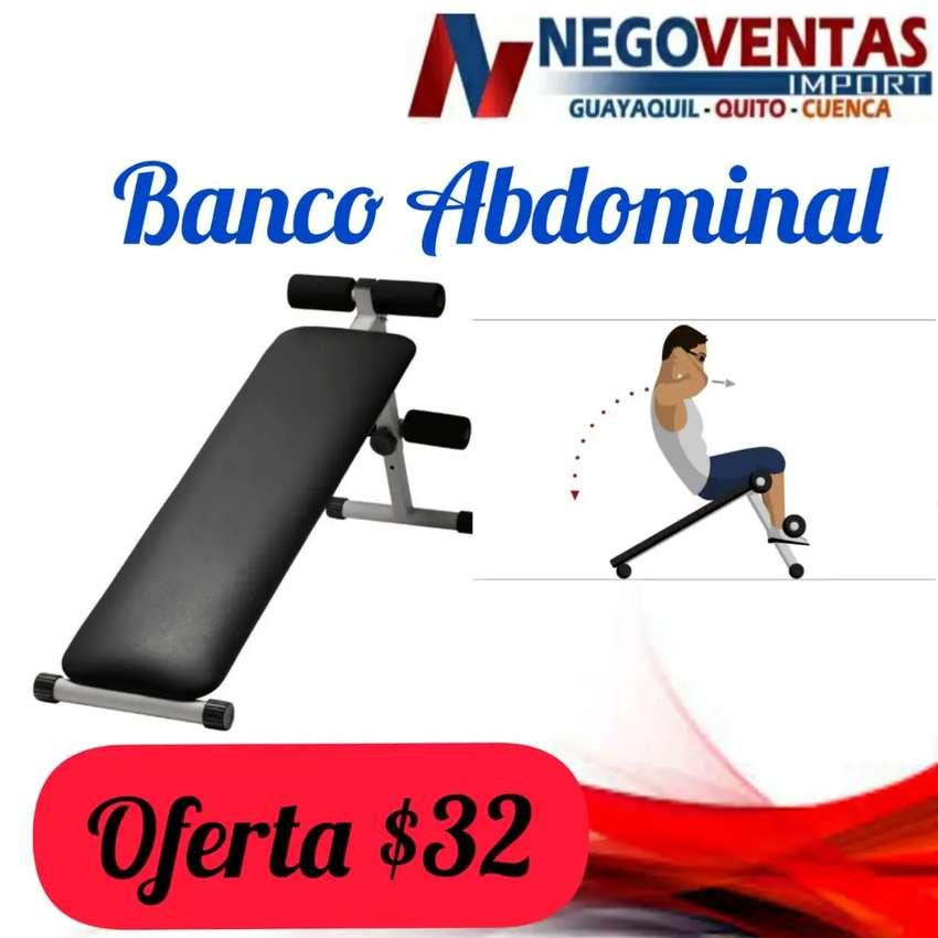 Banco para hacer abdominales para Fitness en casa