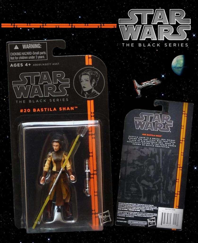 BASTILA SHAN / STAR WARS: THE BLACK SERIES 3.75'' / 20 / producto nuevo, sellado