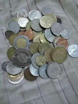 Monedas de varios paises