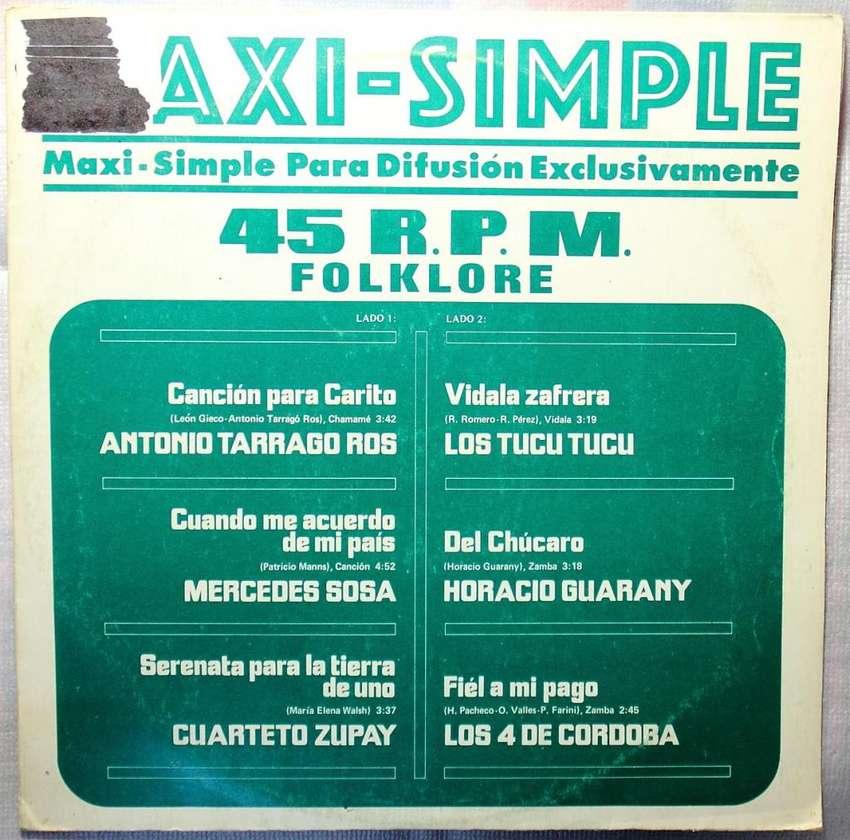 Maxi simple 45 rpm folklore varios interpretes