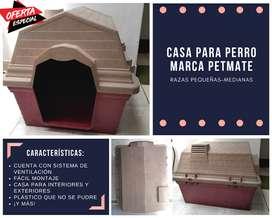 Casa para perro Petmate ORIGINAL