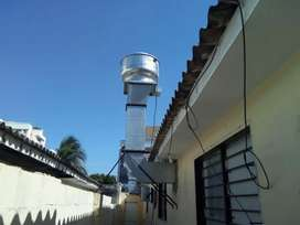 Campanas Extractoras - Ventilación Industrial