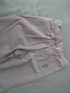 Pantalón Drill Gris para Niño