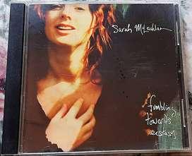 Sarah Mclachlan Fumbling Towards Ectasy Cd Usa Arista 1993