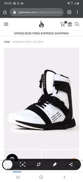 Zapatos Deportivos Ryderwear Blancos Nuevos