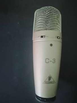 Microfono beringer c3