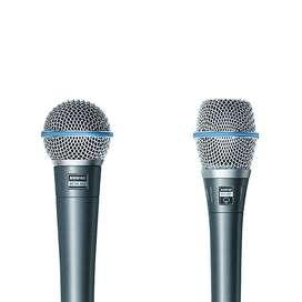 Microfono Shure Beta 58a Profesional Vocal Alambrico