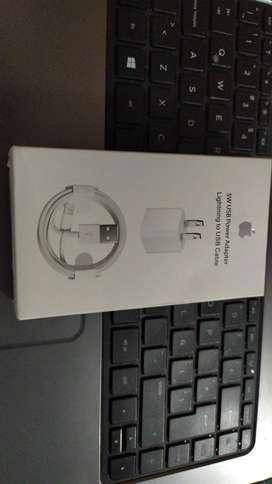 Vendo cargador de iPhone nuevo estado 10/10