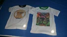 Venta de Camisetas para Niños