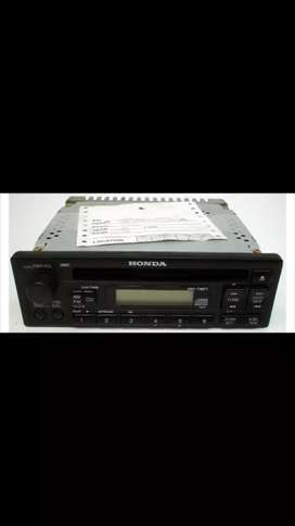 Vendo cd player original de honda civic 2000