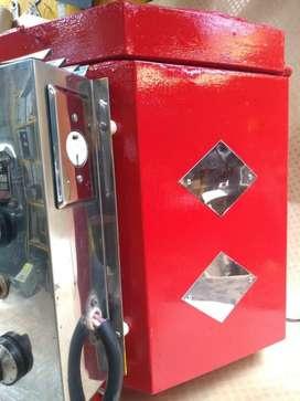 Horno Para Cerámica exagonal color rojo 220v. 4.400w- 20 amperios
