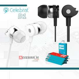 Auriculares Celebrat D1‼️Alta calidad de sonido